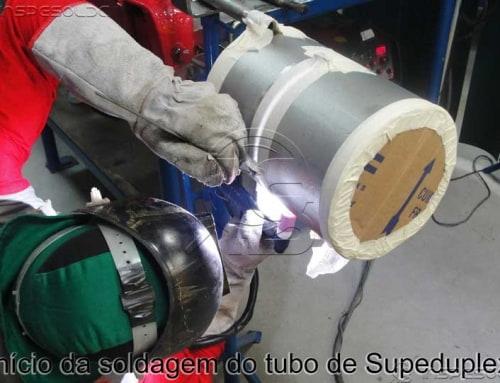 Qualificação para Soldagem de Superduplex