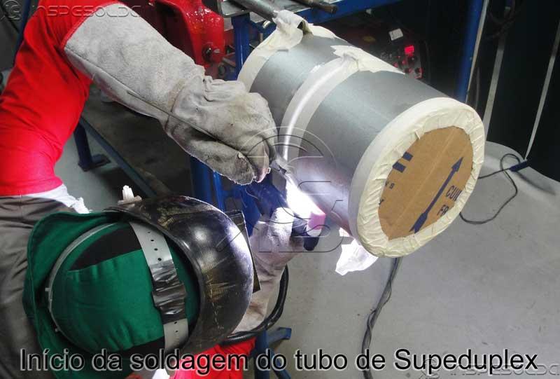 Qualificação para Soldagem de Superduplex: Imagem 1