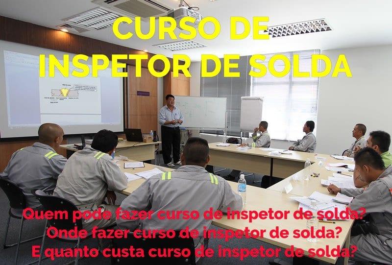 Curso de Inspetor de Solda: Imagem Curso de Inspetor de Solda