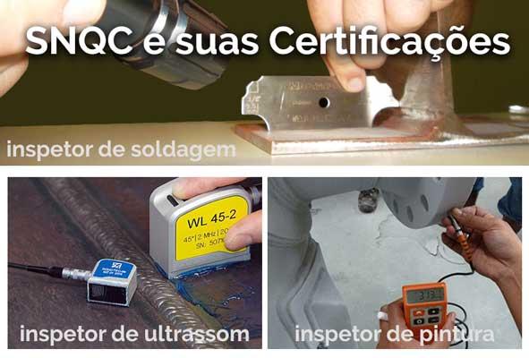 SNQC: Imagem Sistema Nacional de Qualificação e Certificação SNQC