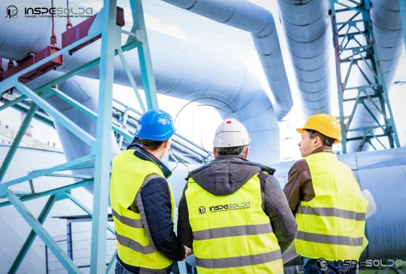 INSPESOLDA – Empresa de ensaios não destrutivos especializada em inspeção de equipamentos.