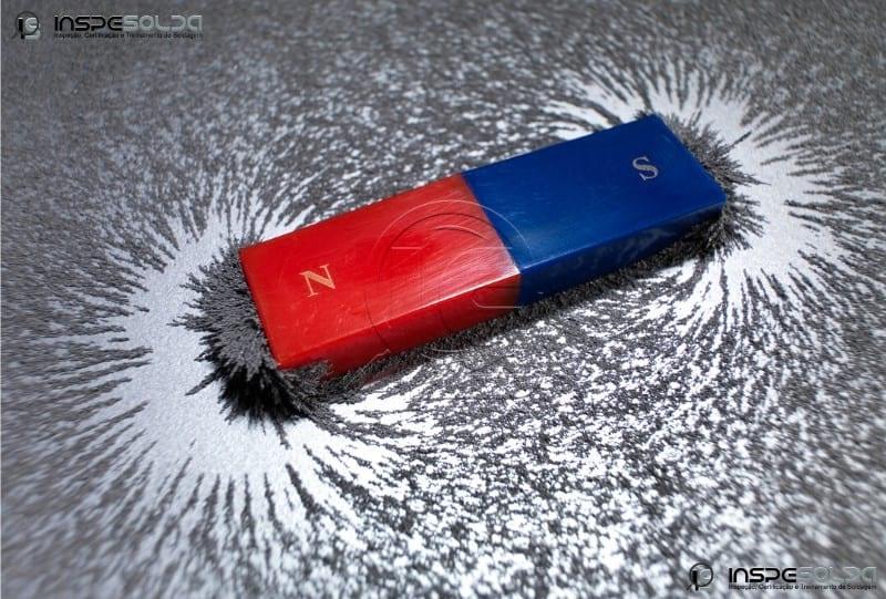 Inspeção de Solda por Partículas Magnéticas