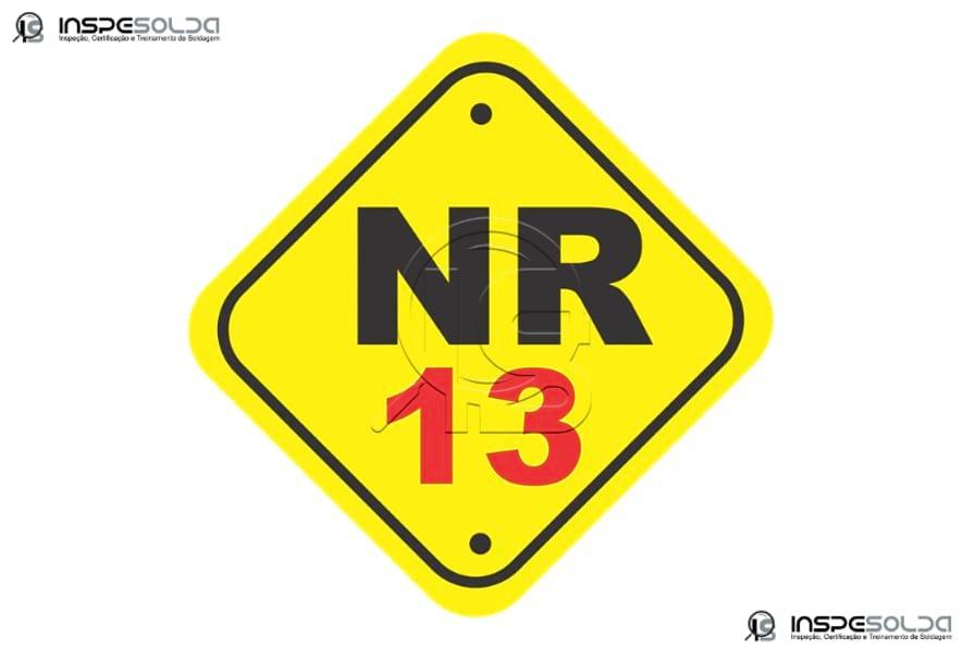 Laudo de caldeiras e vasos NR 13