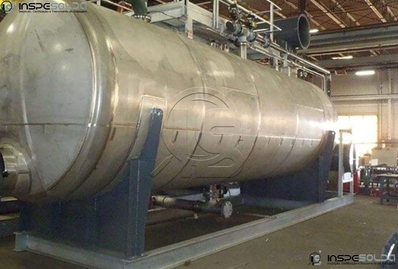 inspeção vaso de pressão